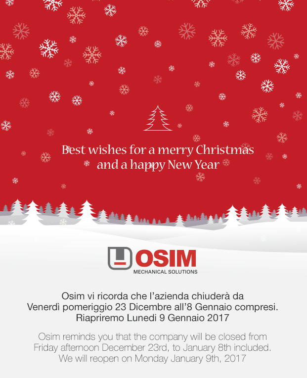Buon Natale da Osim