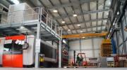 Interno nuovo stabilimento azienda Osim